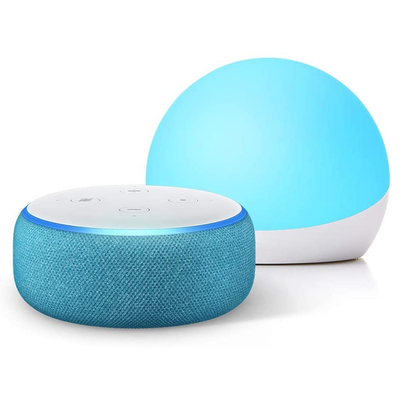 Amazon Echo Dot Kids Edition and Echo Glow