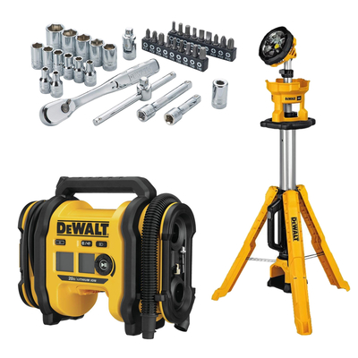 Add these discounted Dewalt products to your tool arsenal with up to 40% off