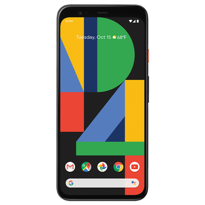 Google Pixel 4 smartphone with $200 prepaid Mastercard