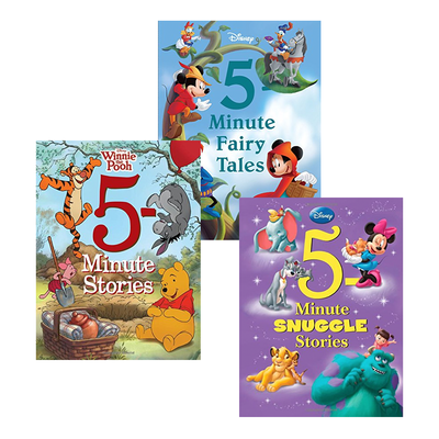 Disney's 5-Minute Stories books are great bedtime reads on sale for as low as $6