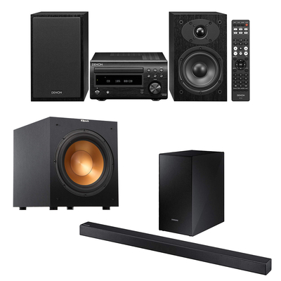 Get serious about home audio with this Prime Day sale on sound bars, subwoofers, and more