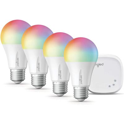 Sengled smart LED multi-color A19 4-pack starter kit