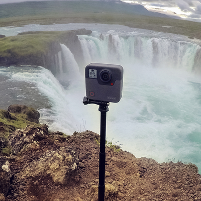 Capture everything around you with the GoPro Fusion 360-degree camera discounted to $399