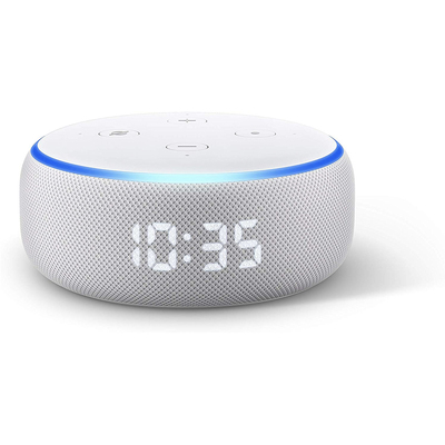 Amazon Echo Dot with Clock smart speaker