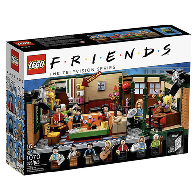 LEGO Ideas Friends Central Perk Building Kit