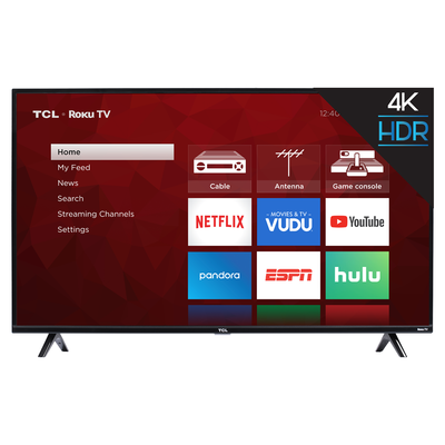 TCL 75-inch 4K UHD Smart Roku TV (75S425)