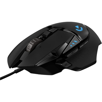Logitech G502 Hero high performance gaming mouse black