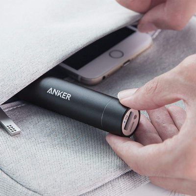 Charging on-the-go is simple with Anker's PowerCore+ Mini Charger on sale for $15