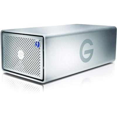 G-Technology 8TB G-RAID with Thunderbolt 3 USB-C removable dual drive storage system
