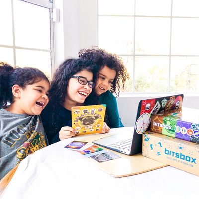 Kids as young as six can have a blast learning to code with a Bitsbox subscription at 50% off