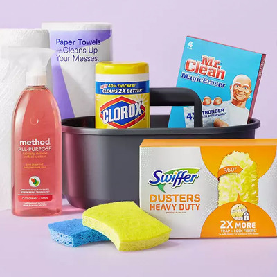 Restock $40 in household essentials and Target will give you a free $10 gift card