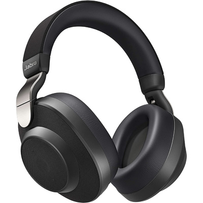 Jabra Elite 85h Bluetooth weather resistant noise-canceling headphones titanium black