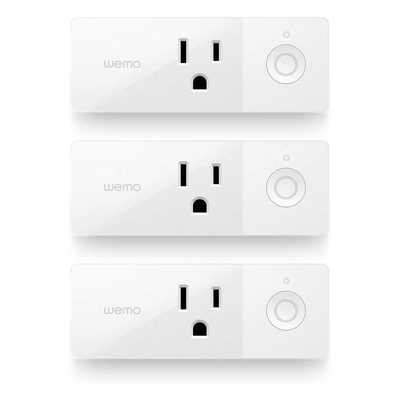 Wemo smart plug 3-pack