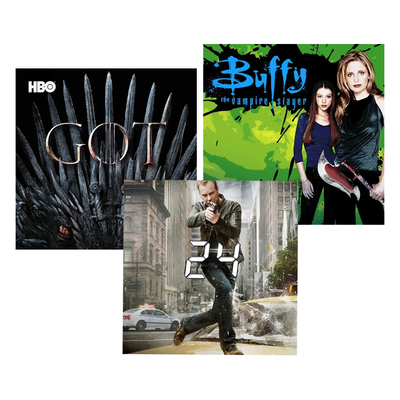 Complete TV Series Sale: 24, Buffy, Futurama, and more