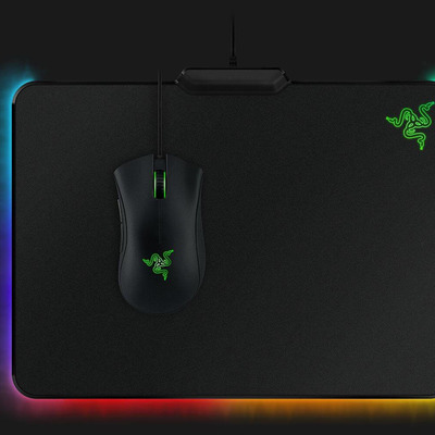 Customize this discounted Razer Firefly Chroma Gaming Mousepad with your favorite colors