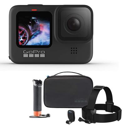 GoPro Hero9 action camera and Adventure Kit bundle