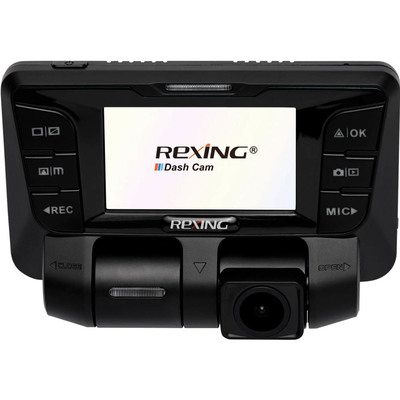 Rexing V2 front and rear camera dash cam