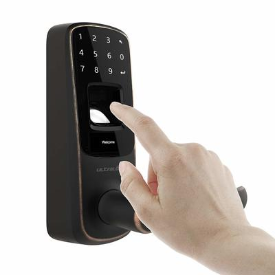 Go keyless with $55 off the 5-in-1 Ultraloq Bluetooth-enabled fingerprint smart lock