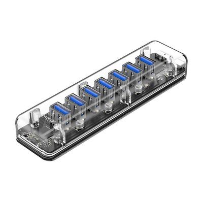ORICO 7-Port Transparent USB 3.0 Hub