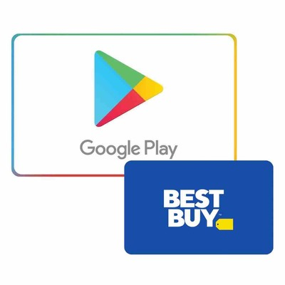 $100 Google Play Gift Card + $10 Best Buy Gift Card