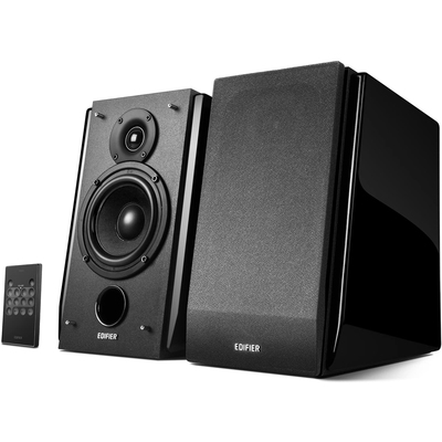 Edifier R1850DB bookshelf speakers with subwoofer out
