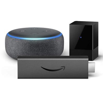 Amazon Fire TV Blaster Fire TV Stick 4K Echo Dot bundle