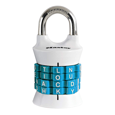 Master Lock Set-Your-Own-Word Combination Padlock
