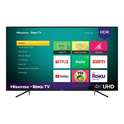 Hisense 75-inch LED 4K UHD HDR Smart Roku TV (R7E Series)