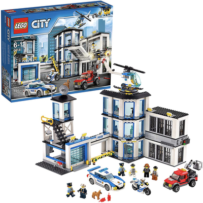Lego City 894-piece police station building kit