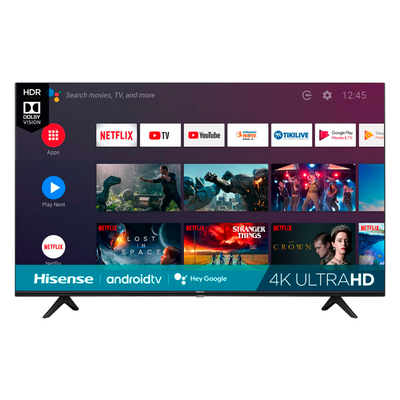 Hisense 50-inch 4K UHD Android Smart TV