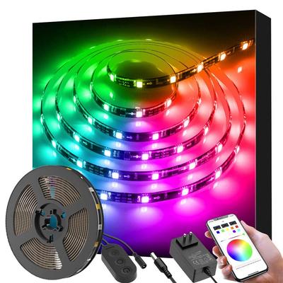 Govee Dreamcolor 9.8-foot LED Strip Lights Backlighting