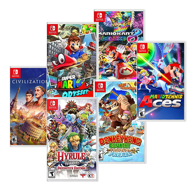 Digital Nintendo Switch games