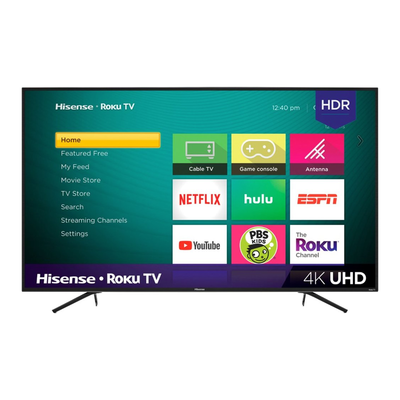 Hisense 55-inch 4K UHD HDR Smart Roku TV (R6070E3 Series)