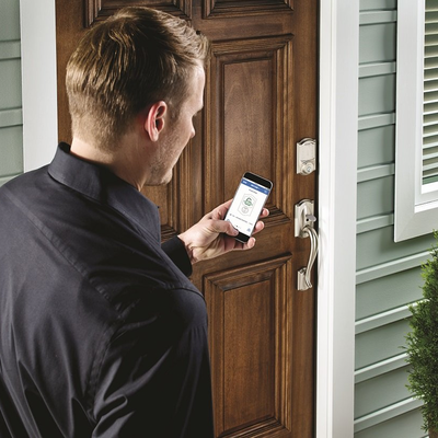 Forget your keys and grab a discounted Schlage smart lock to start unlocking your door with your phone