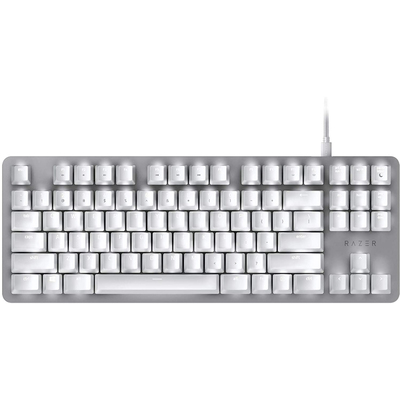 Razer BlackWidow Lite TKL mechanical keyboard white