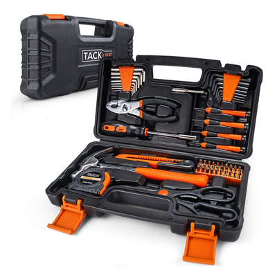 TACKLIFE 57-Piece Home Tool Kit