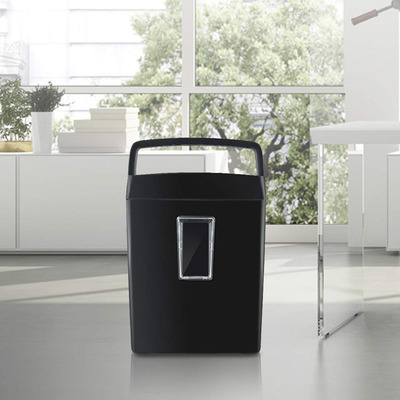 Bonsaii High-Security P4 6-sheet cross-cut home office paper shredder