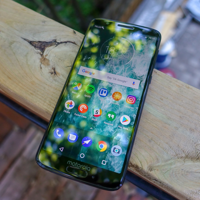 Slide the unlocked Moto G6 into your pocket at the low price of $160
