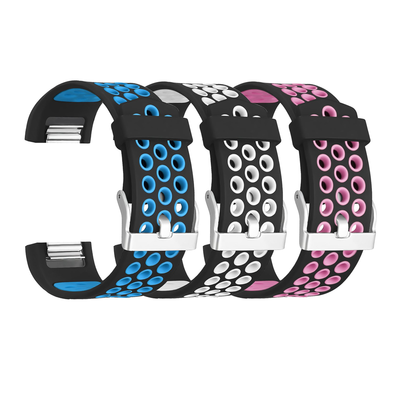 Pick three Fitbit Charge 2 sports bands in your favorite colors for only $4