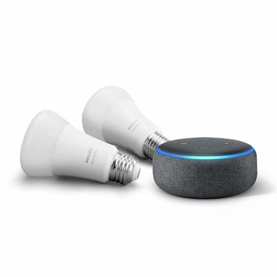Kickstart your smart home with this discounted Echo Dot and Philips Hue Bluetooth bulb bundle