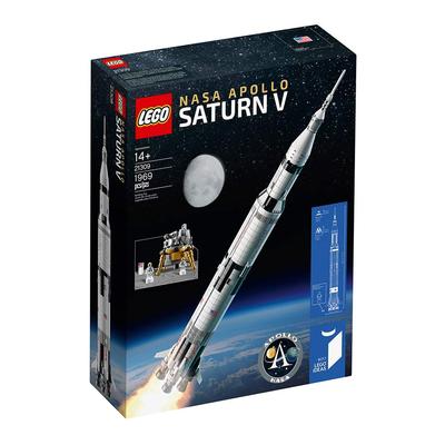 LEGO Ideas NASA Apollo Saturn V Building Kit