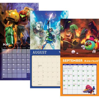 Nintendo 2020 Calendars
