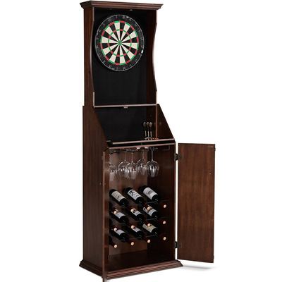 Barrington Bristle Dartboard Cabinet w/ Wine Storage
