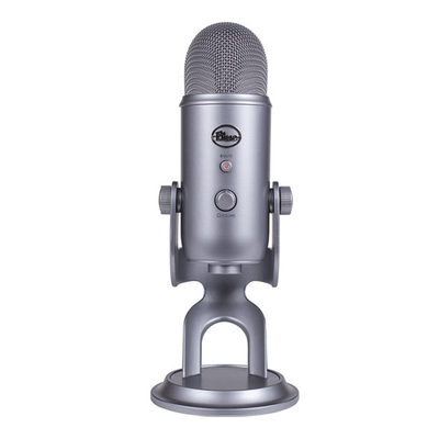 Blue Yeti USB-powered microphone
