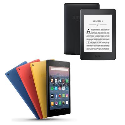 Amazon Refurbished Fire HD and Kindle Paperwhite