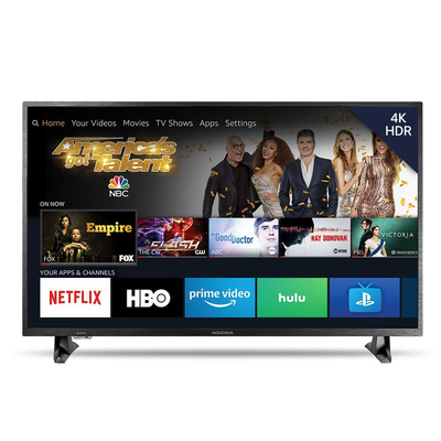 Enhance your entertainment experience with Insignia's 43-inch 4K UHD Fire Edition Smart TV at $100 off