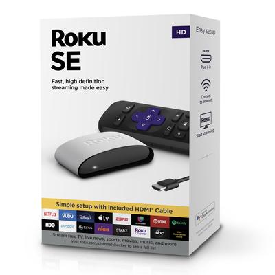Roku SE media streaming player