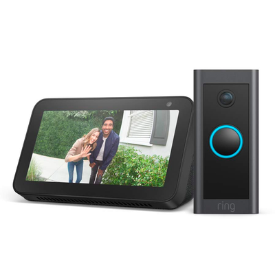 Ring Video Doorbell Wired with Echo Show 5