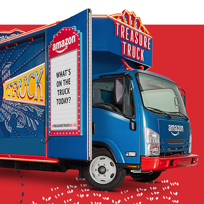 Find Amazon's Treasure Truck in your city before summer ends to score an extra $10 off