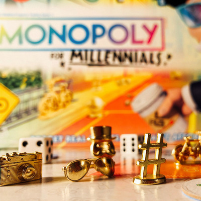Take a break from adulting with half off the Monopoly for Millennials board game
